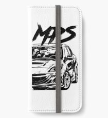 3 MPS BL & quot; Dirty Style & quot; iPhone Wallet/Case/Skin