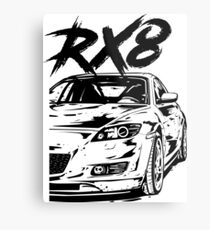 RX8 VFL & quot; Dirty Style & quot; Metal Print