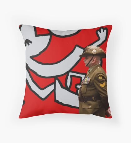 Not So Funny Throw Pillow