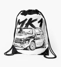 mk1 golf bags redbubble Honda Accord Stance golf 1 mk1 quot dirty style quot drawstring bag