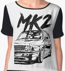 "Golf MK2 MK2 ""Dirty Style"" Chiffon Top"