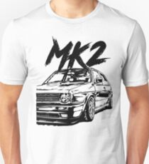 "Golf MK2 MK2 ""Dirty Style"" Unisex T-Shirt"