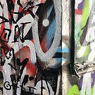 Southbank Skatepark Graffiti #3 by Tracey Hudd