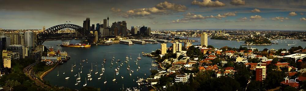 Sydney Harbour by TimC