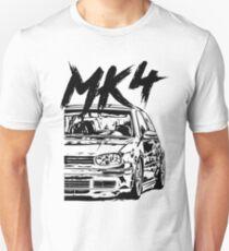 "Golf MK4 4 ""Dirty Style"" Unisex T-Shirt"
