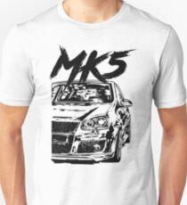 "Golf 5 MK5 ""Dirty Style"" Unisex T-Shirt"