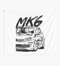 Golf 6 MK6 & quot; Dirty Style & quot; Wall Tapestry