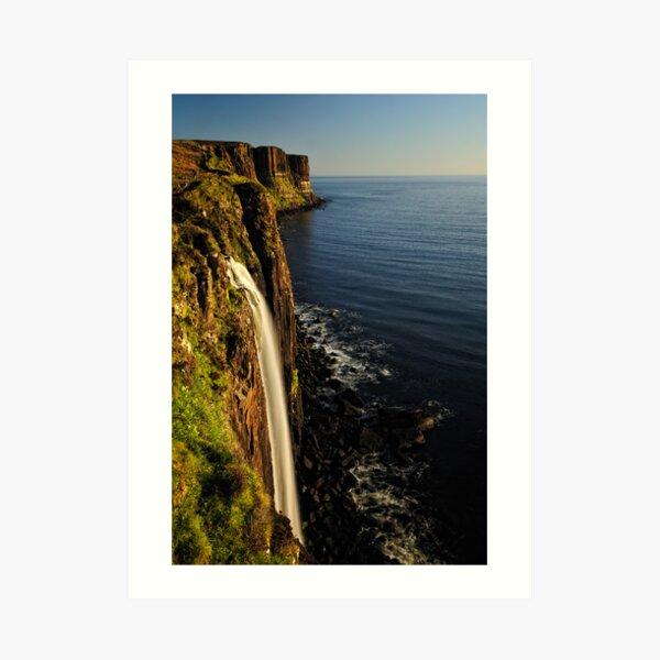 Mealt Falls & Kilt Rock, Isle of Skye Art Print