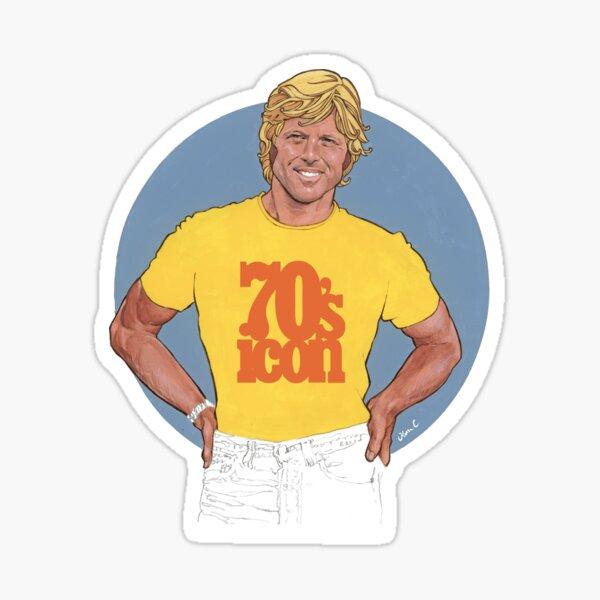 70's icon Sticker