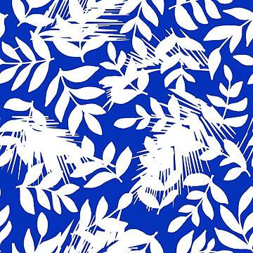 Tropical Boy Blue by lushkingdom