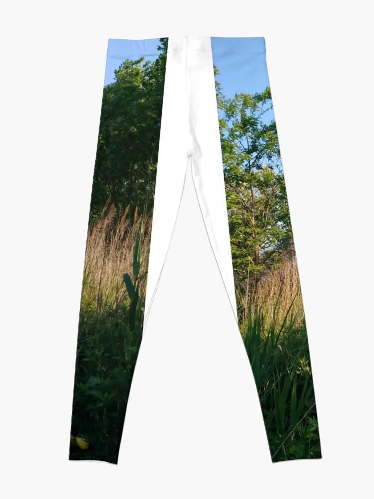 Alternate view of pattern, design, tracery, weave, decoration, motif, marking, ornament, ornamentation, #pattern, #design, #tracery, #weave, #decoration, #motif, #marking, #ornament, #ornamentation Leggings
