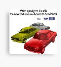 FORD ESCORT RS RANGE - 1976 MK2 Metal Print