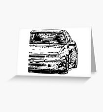 Calibra & quot; Dirty Style & quot; Greeting Card