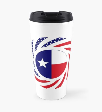 Texan Murican Patriot Flag Series Travel Mug
