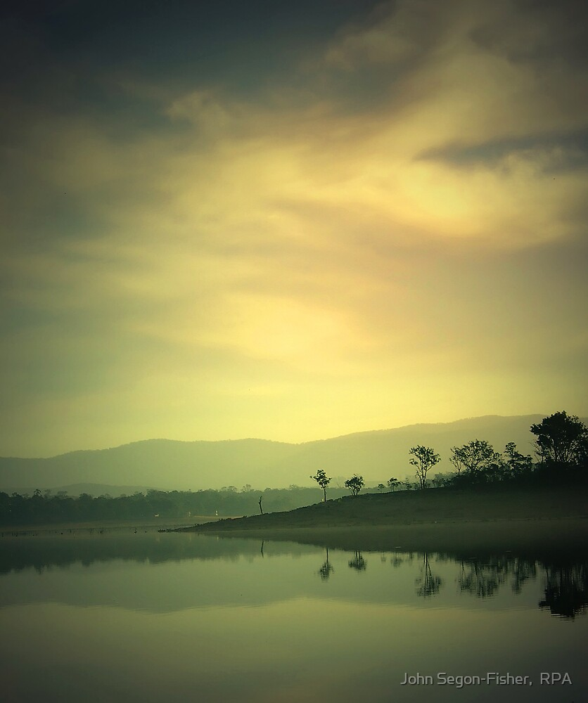 An Autumn Evening by John Segon-Fisher,  RPA