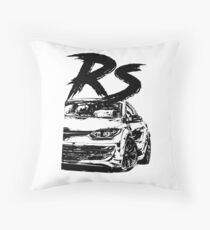 Megane RS FL & quot; Dirty Style & quot; Throw Pillow