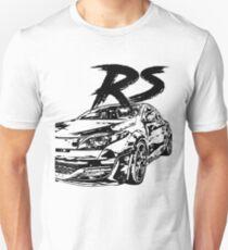 Megane RS VFL & quot; Dirty Style & quot; Unisex T-Shirt