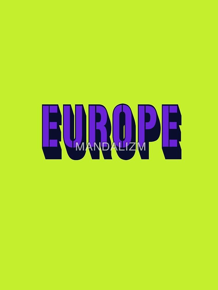 EUROPE by MANDALIZM