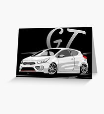 Pro Ceed GT & quot; Low Style & quot; Greeting Card
