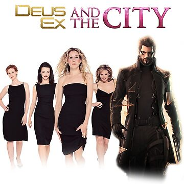 Deus Ex And The City by lonewolfsix