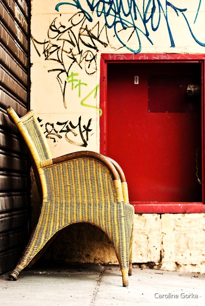 Somewhere to sit by Caroline Gorka