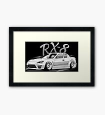 RX8 & quot; Low Style & quot; Framed Print