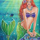 Ariel's world mermaid by Renee L Lavoie by Renee Lavoie