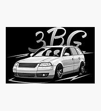 Passat B5.5 3BG Variant & quot; Low Style & quot; Photographic Print