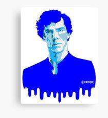 SHERLOCK BLUE Canvas Print