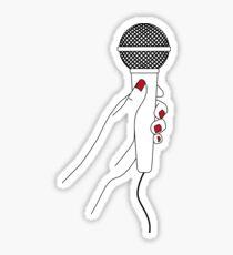 Microphone II Sticker