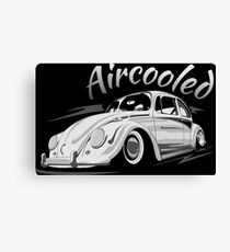 Beetle Beetle Bug Aircooled & quot; Low Style & quot; Canvas Print