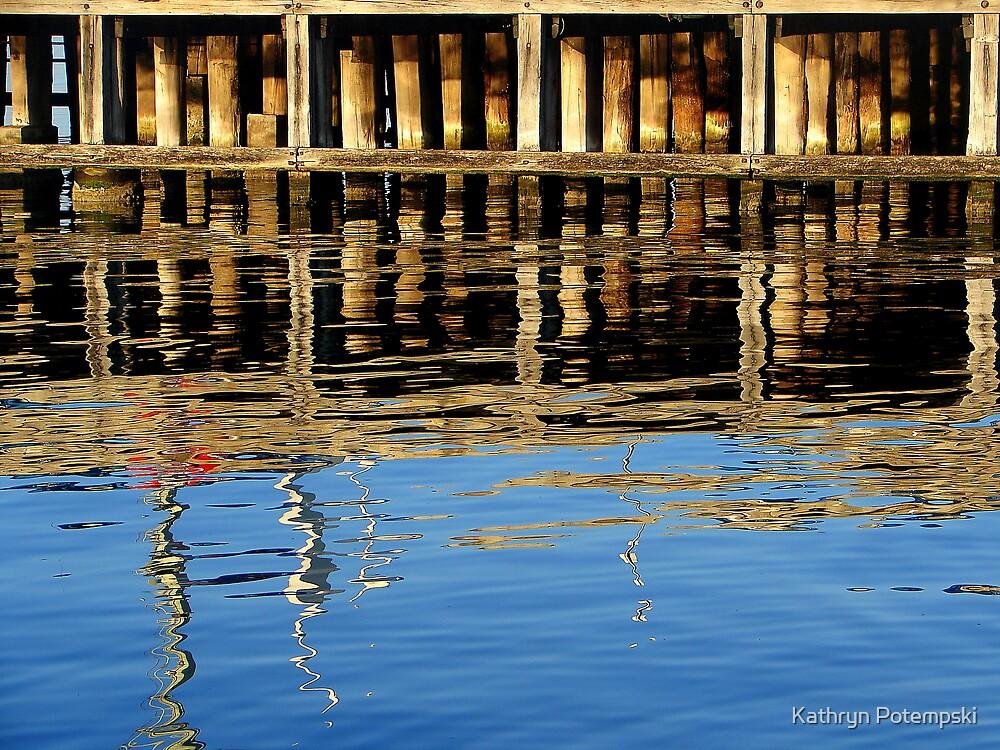 Pier Reflections by Kathryn Potempski