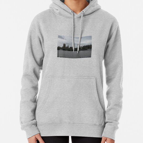 LONDON ON THE THAMES Pullover Hoodie