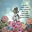 «Wondering Alice - Cita de Alicia en el país de las maravillas» de maryedenoa