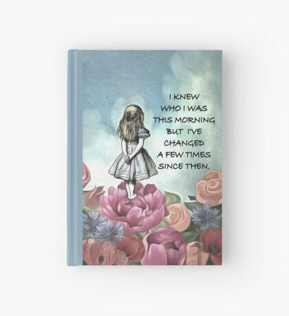 Wondering Alice - Cita de Alicia en el país de las maravillas Cuaderno de tapa dura