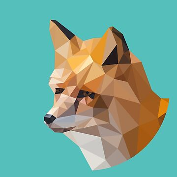 Low Poly Fox by coolioscooter
