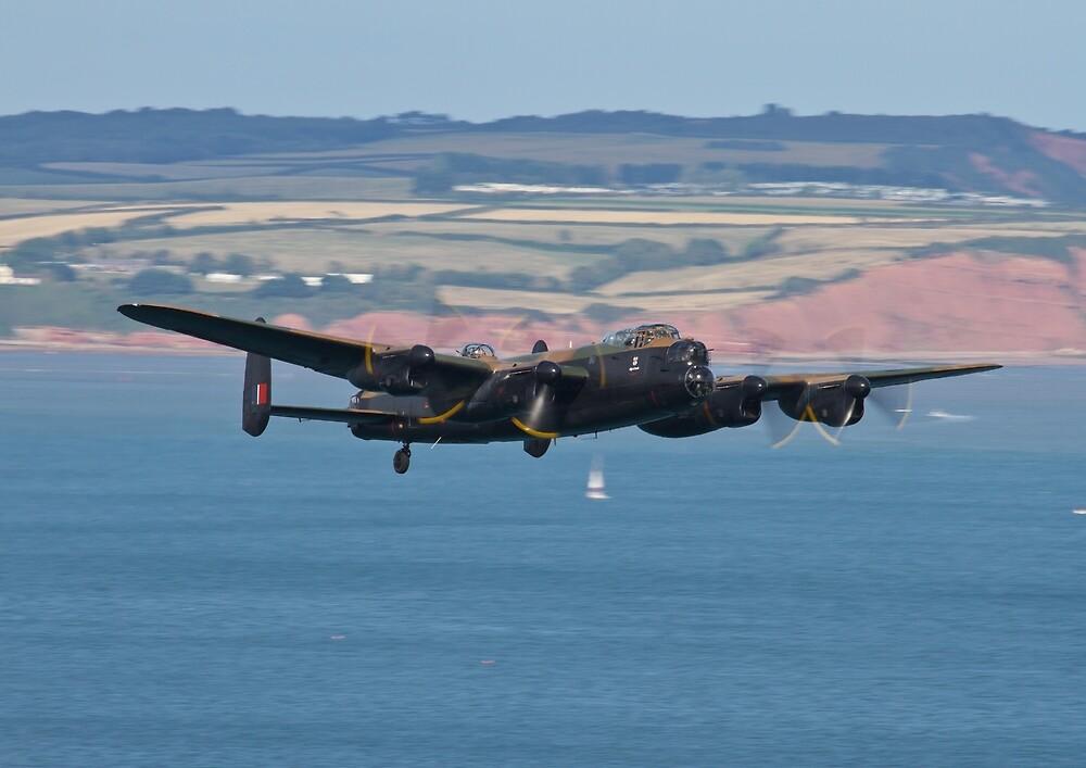 BBMF Avro Lancaster by LeadingEdgePics