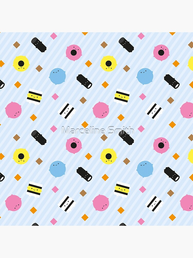 Kawaii Candy Liquorice Allsorts by marcelinesmith