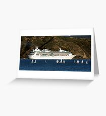 Rhapsody of the Seas Greeting Card