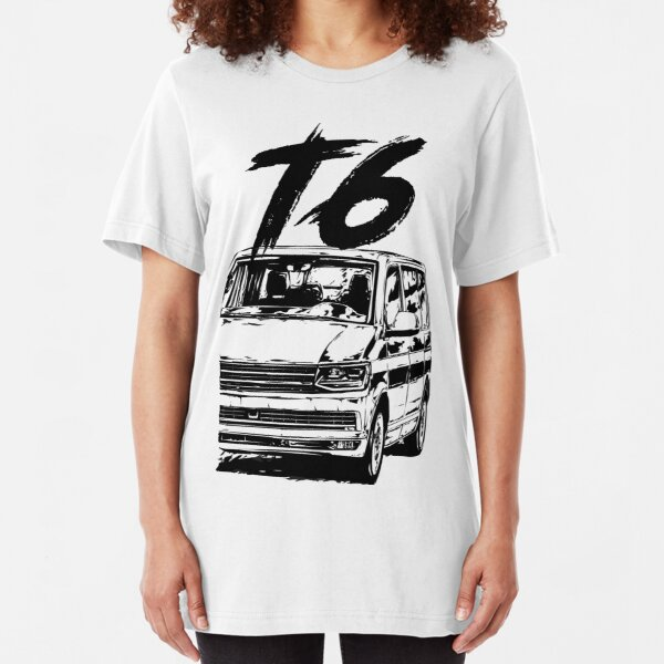 T6 & quot; Dirty Style & quot; Slim Fit T-Shirt