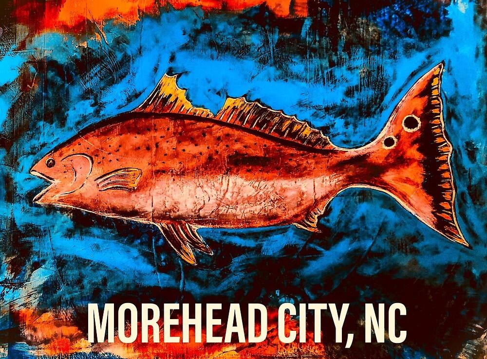 Salty Redfish (Morehead City, NC) by barryknauff