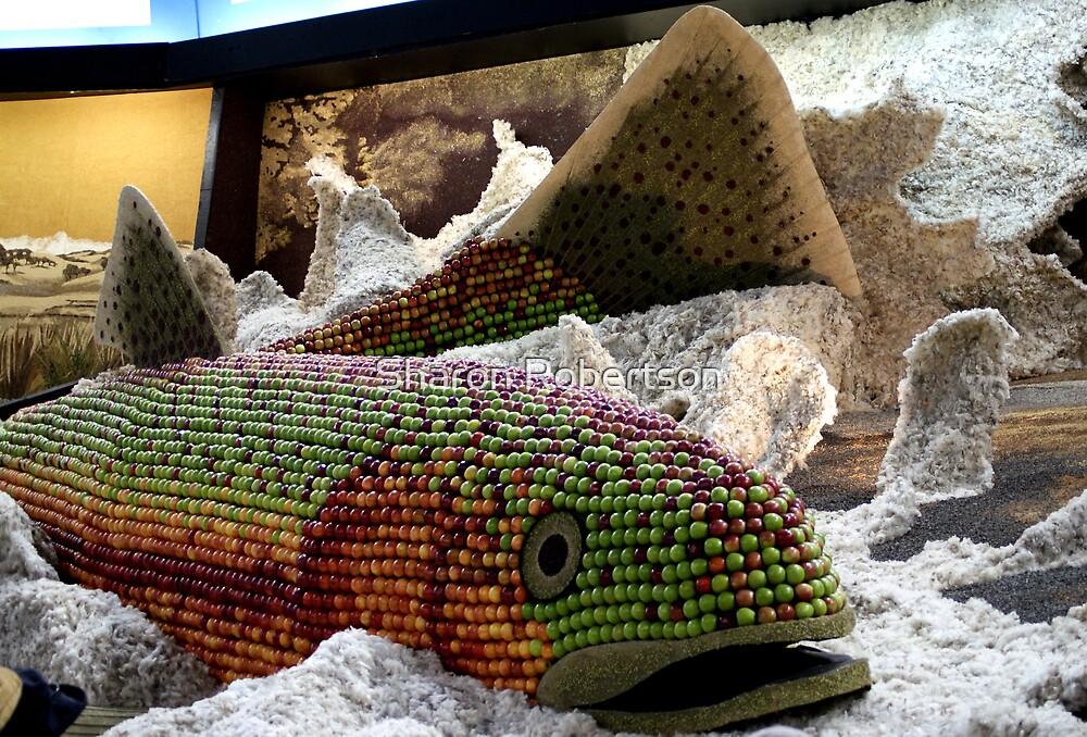 Apple Fish by Sharon Robertson
