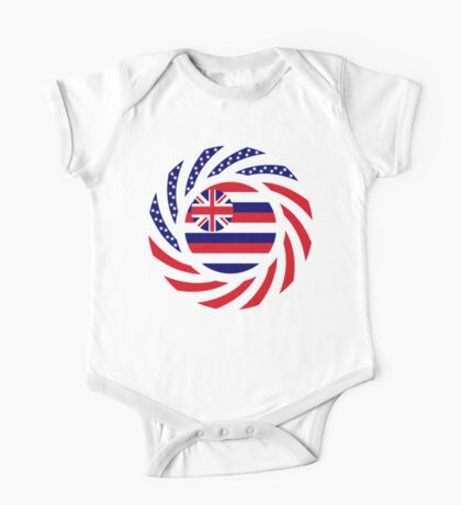 Hawaiian Murican Patriot Flag Series Kids Clothes