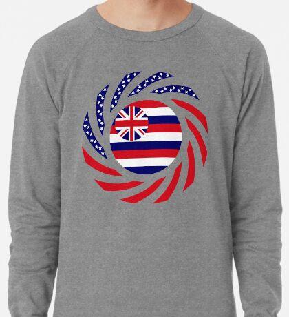 Hawaiian Murican Patriot Flag Series Lightweight Sweatshirt