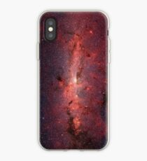 Deep Space Galaxy Red iPhone & Samsung Phone Case iPhone Case