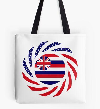 Hawaiian Murican Patriot Flag Series Tote Bag