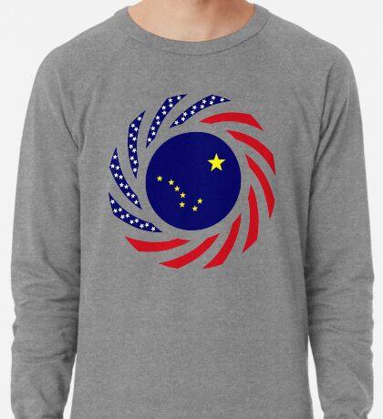 Alaskan Murican Patriot Flag Series Lightweight Sweatshirt