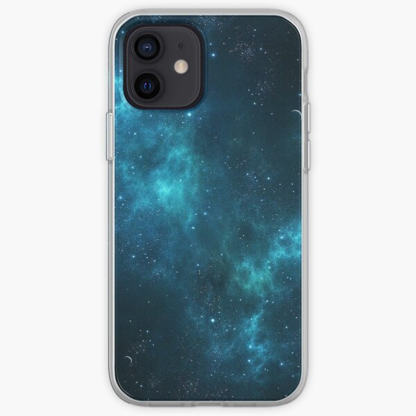 Deep Space Galaxy Blue iPhone & Samsung Phone Case iPhone Soft Case