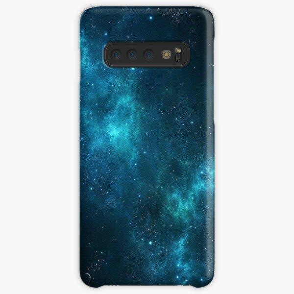 Deep Space Galaxy Blue iPhone & Samsung Phone Case Samsung Galaxy Snap Case