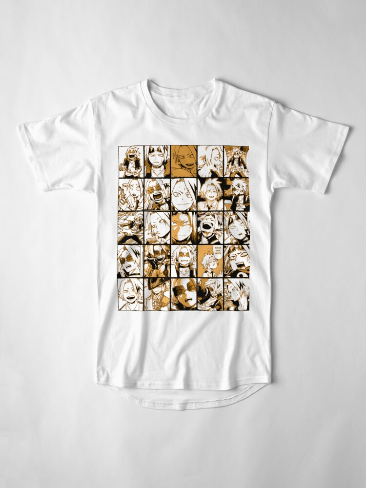 Alternative Ansicht von BNHA Kaminari Denki Collage Longshirt